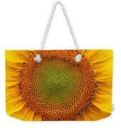 Closeup Of Sunflower Weekender Tote Bag