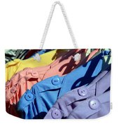 Clothes Street Sale Weekender Tote Bag