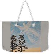 Cloud Angel In Acryics Weekender Tote Bag