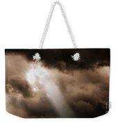 Cloud Break Weekender Tote Bag