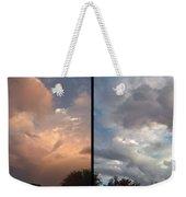 Cloud Diptych Weekender Tote Bag