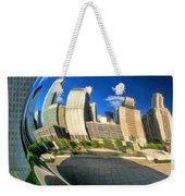 Cloud Gate Bean Weekender Tote Bag
