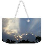 Cloud Glow Weekender Tote Bag