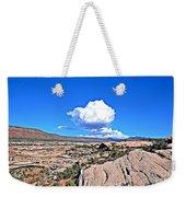 Cloud In Colorado Weekender Tote Bag