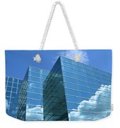 Cloud Mirror Weekender Tote Bag
