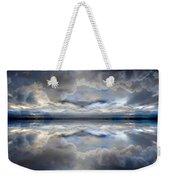Cloud Mirror Weekender Tote Bag