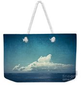 Cloud Over Island Weekender Tote Bag