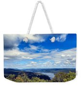 Cloud Pockets Weekender Tote Bag