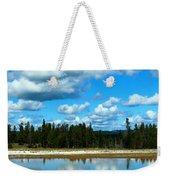 Cloud Reflections Weekender Tote Bag