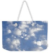 Cloud Series 7 Weekender Tote Bag