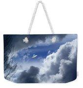 Cloud Surfing Weekender Tote Bag