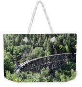 Cloudcroft Railroad Trestle Weekender Tote Bag