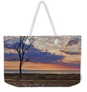 Clouding Up On Oyster Bay Weekender Tote Bag