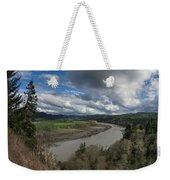 Clouds Above Eel River Weekender Tote Bag