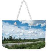 Clouds Above Taylor Highway To Chicken-ak Weekender Tote Bag