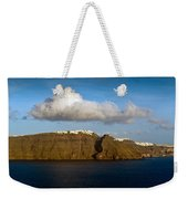 Clouds And Cliffs Weekender Tote Bag