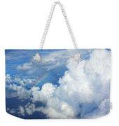 Clouds And Rainbow Weekender Tote Bag