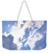 Clouds And Sunshine Weekender Tote Bag