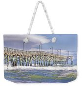 Clouds And Waves Weekender Tote Bag