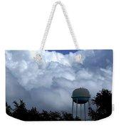Clouds Around The Water Tower Weekender Tote Bag