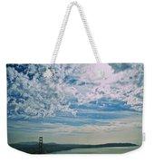 Clouds Dropping In Weekender Tote Bag