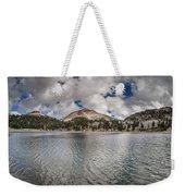 Clouds Form Over Lake Helen Weekender Tote Bag