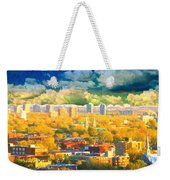 Clouds In The City Weekender Tote Bag