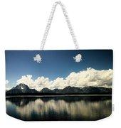 Clouds In The Grand Tetons Weekender Tote Bag