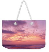 Clouds In The Sky At Sunset, Pacific Weekender Tote Bag