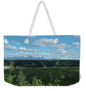 Clouds Mountains And Trees Weekender Tote Bag
