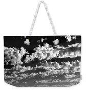 Clouds Of Freycinet Bw Weekender Tote Bag