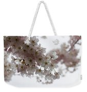 Clouds Of Soft Pink Blossoms - A Tribute To Spring Weekender Tote Bag