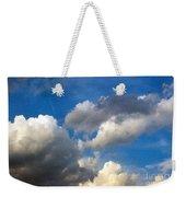 Clouds Of Today Weekender Tote Bag