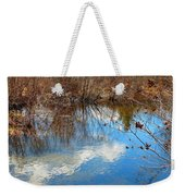 Clouds On Water Weekender Tote Bag