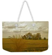 Clouds Over An Illinois Farm Weekender Tote Bag