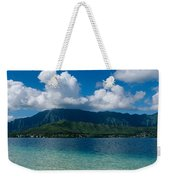 Clouds Over An Island, Hana, Maui Weekender Tote Bag