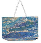 Clouds Over Buffalo Mountain Weekender Tote Bag