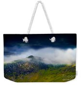 Clouds Over Bull Crag And Maiden Moor Weekender Tote Bag