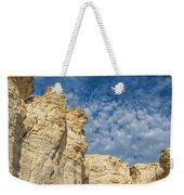Clouds Over Chalk Pyramids Weekender Tote Bag
