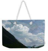 Clouds Over Crawford Weekender Tote Bag