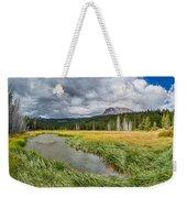 Clouds Over Hat Lake Weekender Tote Bag