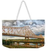Clouds Over King Bridge Weekender Tote Bag