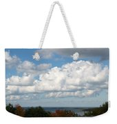 Clouds Over Lake Michigan Weekender Tote Bag