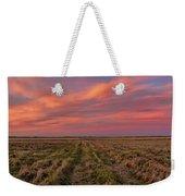 Clouds Over Landscape At Sunset Weekender Tote Bag