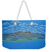 Clouds Over Lassen Weekender Tote Bag