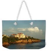 Clouds Over Library Weekender Tote Bag
