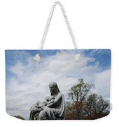 Clouds Over Mother And Twins Weekender Tote Bag