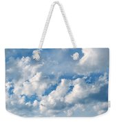 Clouds Over New Mexico Weekender Tote Bag