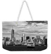 Clouds Over New York Weekender Tote Bag