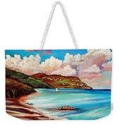 Clouds Over Paradise Weekender Tote Bag